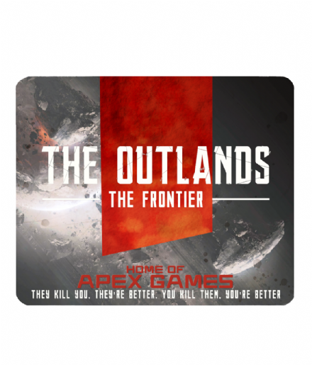 The Outlands Frontier Mouse Mat Inspired by Apex Games & Titanfall